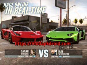 CSR racing Mod Apk Multiplayer