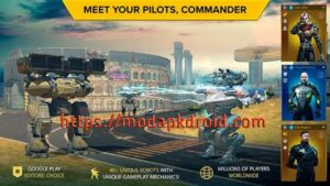 war robots mod apk meet commander