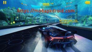 Asphalt 8 Mod Apk Hacked