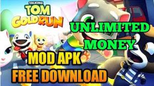 Talking Tom Gold Run Mod Apk