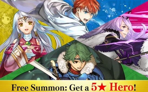Free Summon: Get a 5* Hero