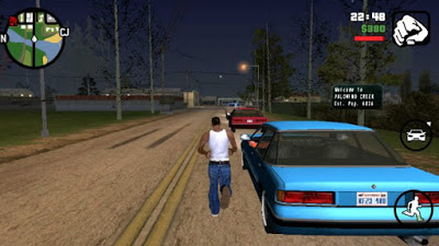 GTA San Andreas APK Full + OBB Data Files Free Download for Android