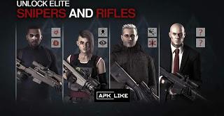 hitman sniper 2 mod apk unlimited money
