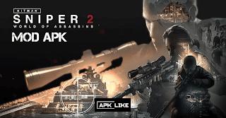 Hitman Sniper 2: World of Assassins Mod Apk 0.1.8 (, Unlimited Money/Ammo) 2021