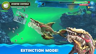 hungry shark world mod apk happymod