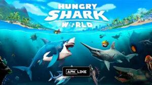 Hungry Shark World MOD APK 4.1.2 (Unlimited Money & Gold) 2021
