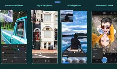 Adobe Photoshop Lightroom is a powerful free photo editor app that makes it easy for you to take and edit stunning images.