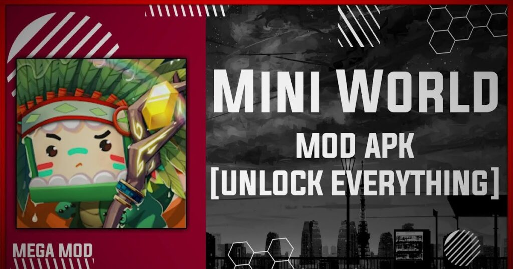 Mini World: Block Art MOD APK [UNLOCK ALL] Latest (V0.52.7)
